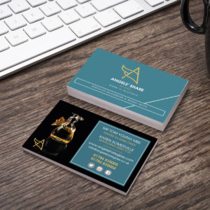 angels share business cards