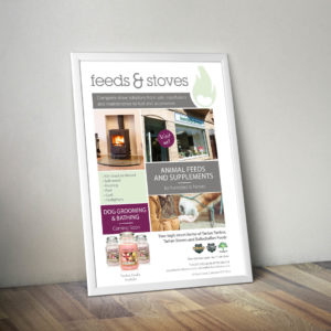feeds and stoves poster
